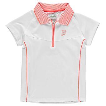 Prince Kids Half Zip Tech Tennis Polo Shirt Juniors Short Sleeve Performance