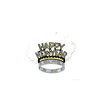 Tiaras de oro Ave del paraíso de feliz año nuevo (25)