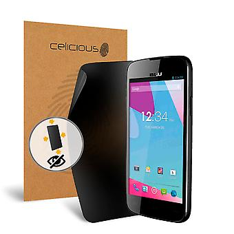Celicious Privacy Plus 4-Way Anti-Spy Filter Screen Protector Film Compatible with BLU Neo 4.5