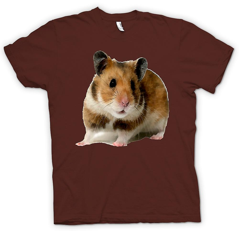 Animal de compagnie Mens T-shirt - Hamster-
