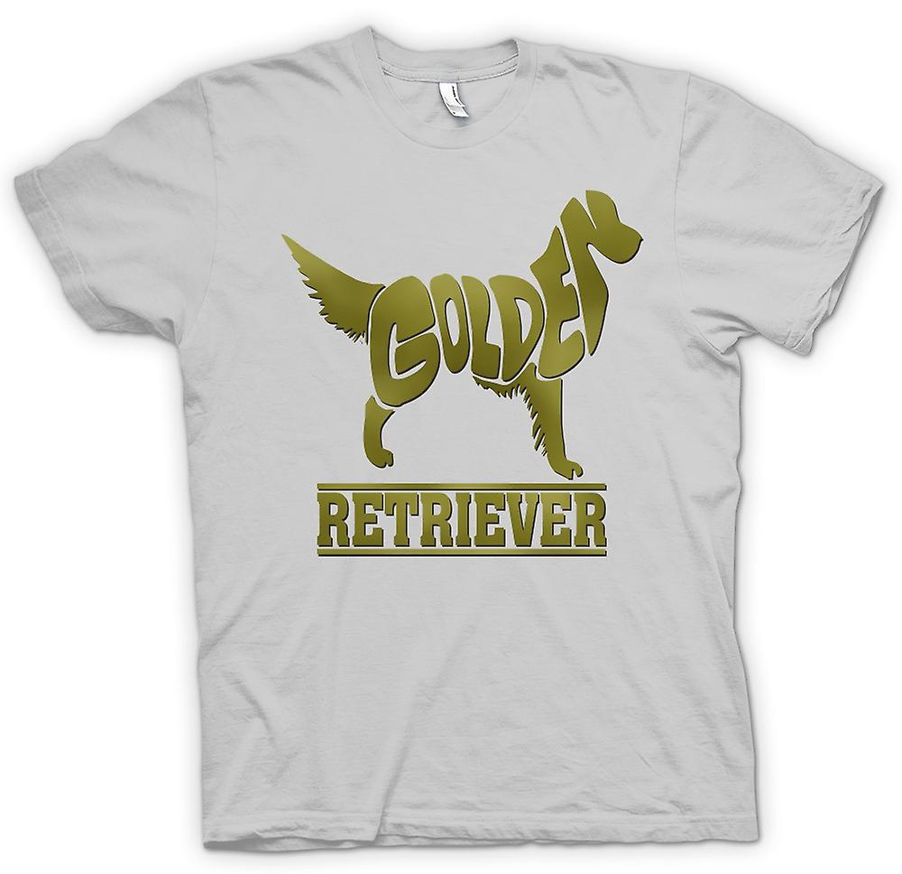 Hommes T-shirt - Golden Retriever