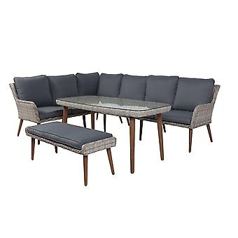 SenS-Line Kimberley lounge dining set - naturel