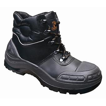 V12 VR657 Endura Ii Black Tough Comfort Boot EN20345:2011-S3 Size 9