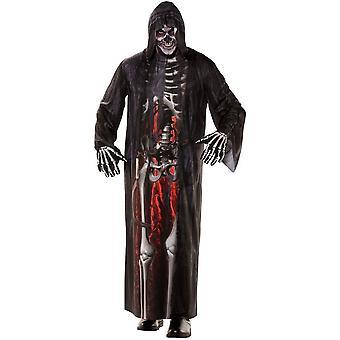 Real Skeleton Adult Costume