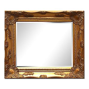 Dimensions 29 x 34 cm, mirror in gold
