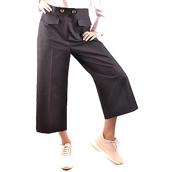 Red Valentino Black Cotton Pants