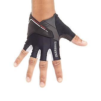 Shimano Black Advanced Fingerless Cycling Gloves
