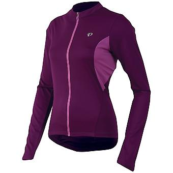 Pearl Izumi Dark Purple Select Womens Long Sleeved Cycling Jersey
