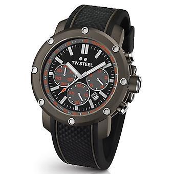 TW Steel Ts4 Grandeur Tech męskie chronograf zegarek 48 mm