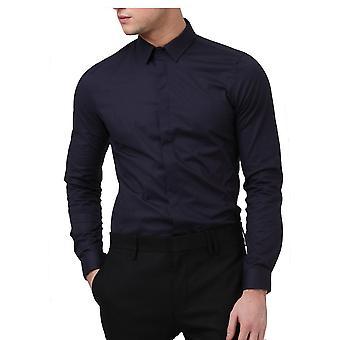 Religión ropa Legión camisa de manga larga Navy