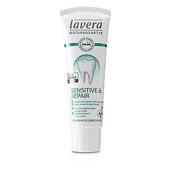 Lavera Toothpaste (Sensitive & Repair) - With Organic Camomile & Sodium Fluoride - 75ml/2.5oz