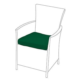 Green Seat Cushion for Rattan Chair, Pack of 6