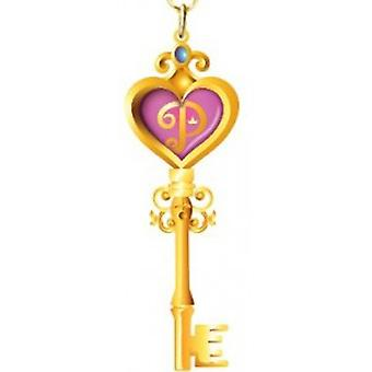 Metal Key Chain - Disney - Princess Key Colored Pewter New Toys Licensed 86042
