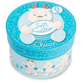 Chicco Soft Blue Cuddles Reindeer Teddy (14 Cm)