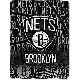 Northwest NBA Brooklyn Nets Micro Plush Blanket 150x115cm