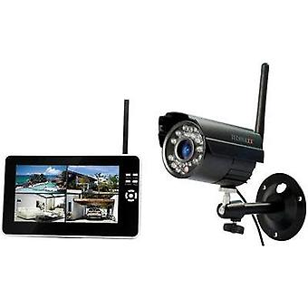 Wireless CCTV system 4-channel incl. 1 camera Technaxx TX-28 4433