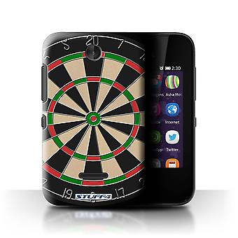 STUFF4 Case/Cover for Nokia Asha 230/Darts/Games