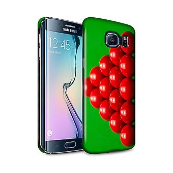 STUFF4 Glänzend Snap Case für Samsung Galaxy S6 Edge + / Rack/Snooker