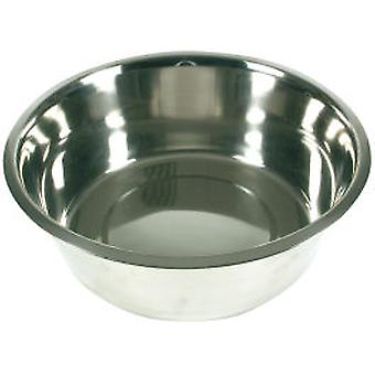 Arquivet Inox Bowl 8L (Dogs , Bowls, Feeders & Water Dispensers)