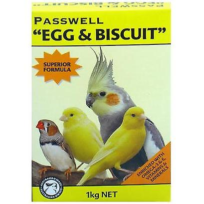 Passwell Egg & Biscuit(Can.fin.coc) 1kg