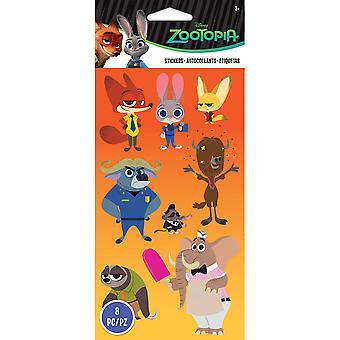 Disney Flat Stickers-Zootopia E5300088
