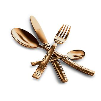 Mepra Tigre Oro 5 pcs flatware set