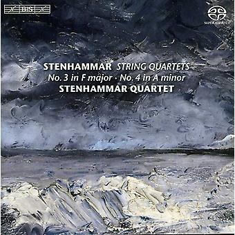 Wilhelm Stenhammar - Stenhammar: String Quartets No. 3 in F Major, No. 4 in a Minor [SACD] USA import