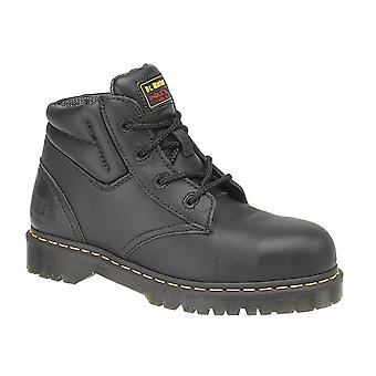 Dr Martens FS20Z Unisex Lace Up Safety Boots Textile Leather PVC Sole Footwear