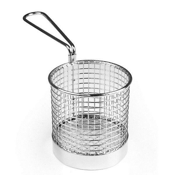 Round Presentation Basket 9 x 6cm For Chips Fries Vegetables