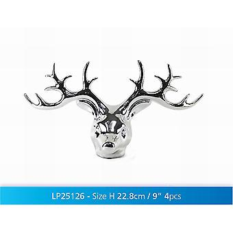 Silver Art Reindeer 18