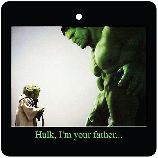 Hulk, I'm Your Father Car Air Freshener
