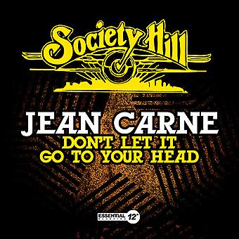 Jean Carne - Don't Let It Go to Your Head [CD] USA import