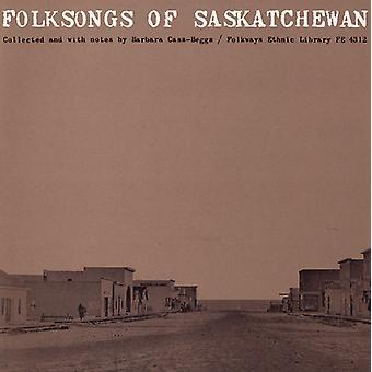Chants folkloriques de la Saskatchewan - importer des chansons folkloriques de la Saskatchewan [CD] é.-u.