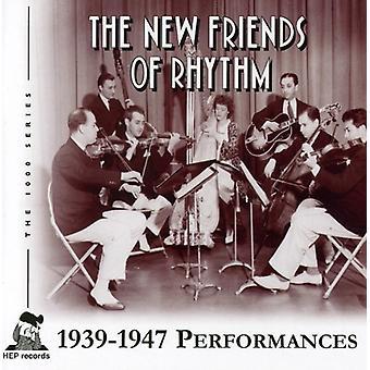 Nye venner af rytme - 1939-1947 forestillinger [CD] USA importerer