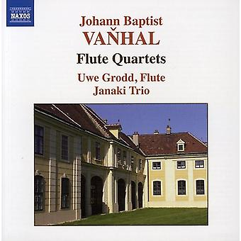 J.B. Vanhal - Vanhal: Flute Quartets [CD] USA import