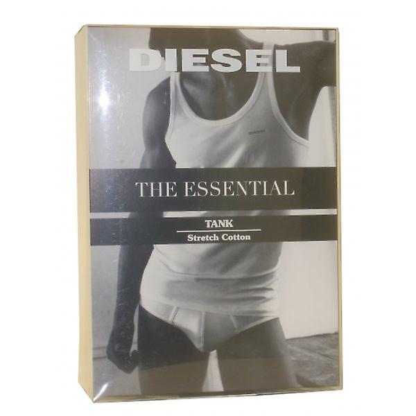Diesel Bale Stretch Cotton Tank Top Vest, Black