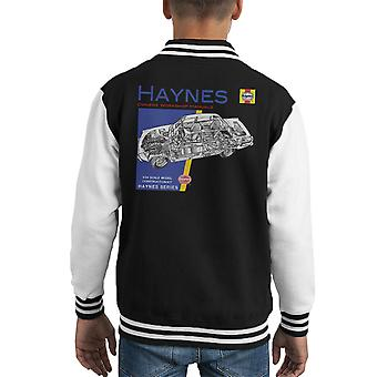 Haynes Owners Workshop Manual 0034 Rover 2200 Kid's Varsity Jacket