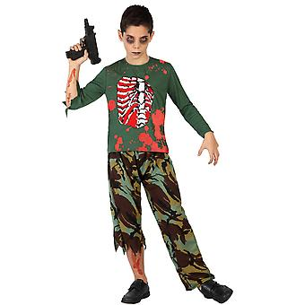 Children's costumes  Zombie army boy costume