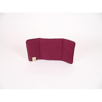 Back cushion backrest cushion Chair cushions bordeaux 30 x 60 cm