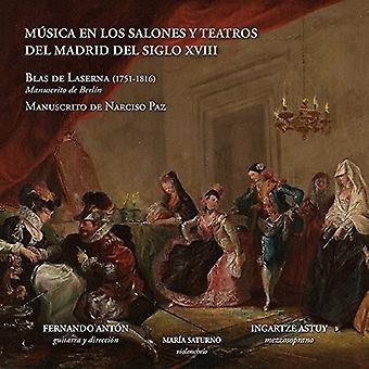 Ingartze Astuy - Laserna: Musica En Los Salones Y Teatros Del Madrid Del Siglo Xviii [CD] USA import