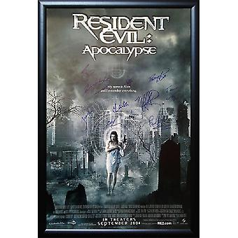 Resident Evil - Signed Movie Poster