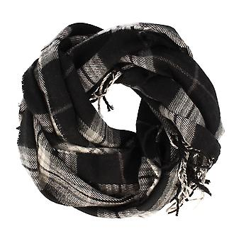 Frédéric Thomass scarf Herrenschal grotesque Plaid anthracite squared
