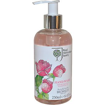 The Royal Horticultural Society Rose Hand Wash 250ml
