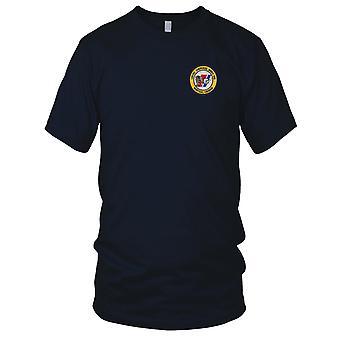 Estados Unidos Costa guarda USCG - Cherokee USCGC WMEC 165 bordada Patch - feminina T-Shirt