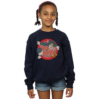 Tom And Jerry Girls Classic Catch Sweatshirt