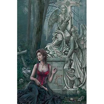 Graveside - Cris Ortega Poster Poster Print