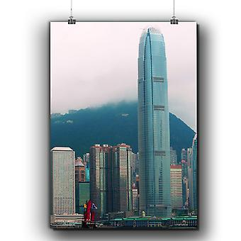 Matte or Glossy Poster with Hong Kong City Fashion | Wellcoda | *q219