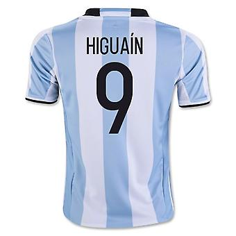 2016-17 Argentinië Home Shirt (Higuain 9) - Kids