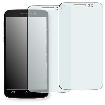Prestigio MultiPhone 7600 duo screen protector - Golebo crystal clear protection film