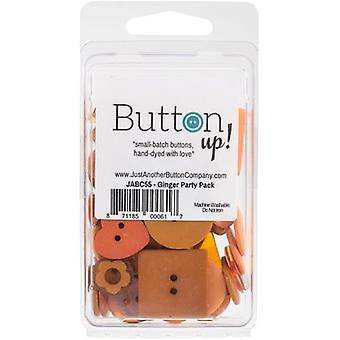 Button Up! Party Pack Buttons-Ginger JABC55-27